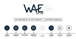 Vue d'écran de la timeline WAE Group